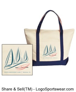 Gemline Harbor Cruise Boat Tote Design Zoom