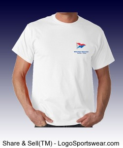 Sail and Kayak Gildan Unisex T-shirt Design Zoom
